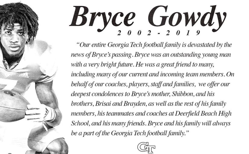 To Bryce…